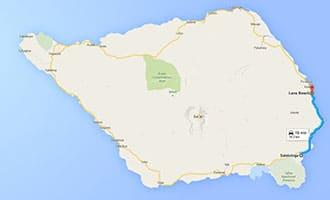 Salelologa Savaii to Lano Beach Samoa 330x200